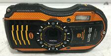 PENTAX WG-3 (III) 16.0MP Digital Adventure Proof Camera - Orange  Unit # 1