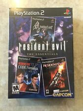 Resident Evil The Essentials (Sony Playstation 2 ),PS2,Brand New,Factory Sealed