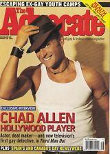 The Advocate August 30 2005 Chad Allen Evan Rachel 060719DBE
