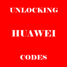 HUAWEI UNLOCK CODES   -  VODAFONE IRELAND NETWORK , P30  P30 LITE, P SMART 2019