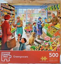 Jigsaw Puzzle by Corner Piece - Greengrocers 500 pieces VGC Complete