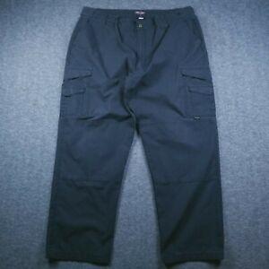 Tru-Spec Tactical Men's Pants Tag-44X32 Act-43X31 Black RipStop Police & Fire
