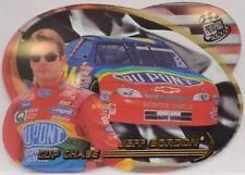 2000 Press Pass Jeff Gordon Cup Chase Acetate Transparent Die Cut Card CC 6/17