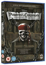 Pirates of the Caribbean 1-4 [DVD]