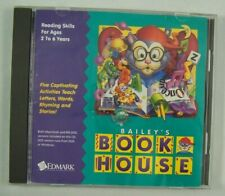 Bailey's Book House * Vintage Pc Game (1994) Edmark *Ms-Dos/ Win/ Mac