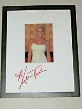 Kellie Pickler Autographed Framed Photo 15 x 12 Hand Signed