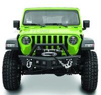 18-19 Jeep Wrangler JL Falcon III Front Bumper+4x Mount LED Light+Winch Plate