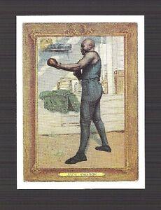 JACK JOHNSON Rare Sports Immortal Card BOXING 1911 TOBACCO CARD PORTRAIT