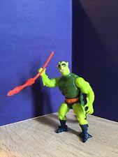 MOTU He-Man 1983 Whiplash with weapon
