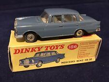 Dinky 186 Mercedes Benz 220 SE - Mint In Original Box