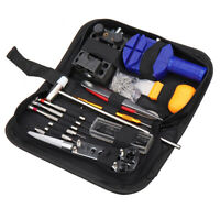 147Pcs Armbanduhr Repair Tools Kit Case Opener Link Spring bar Remover Uhrmacher