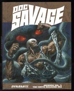 Doc Savage Archives Volume 1: The Curtis Magazine Era HC HUGE re: #1-8 Dynamite