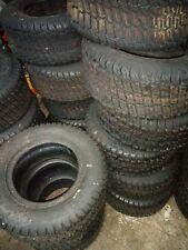2 x carlisle 16 x 6.50-8nhs turf master lawnmower tyres