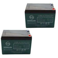 2x BRAND NEW 12V 12Ah Premium Deep Cycle RAZORBACK Battery for UPS, Solar, Alarm