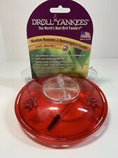 Bird Feeder -Droll Yankees Window  Hummingbird Feeder