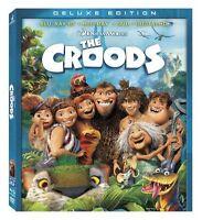 The Croods (Blu-ray 3D  Blu-ray  DVD + Blu-ray