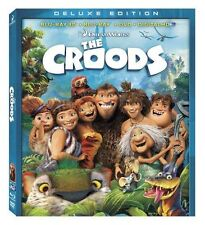 The Croods (Blu-ray 3D / Blu-ray / DVD + Digital Copy) New DVD! Ships Fast!