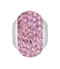 Pink Swarovski Crystals Tt344Pi Mint Lovelinks By Pastiche Silver Spacer