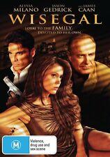 Wisegal (DVD, 2009) Region 4 Used in VGC Alyssa Milano, James Caan, Jason Gedric
