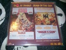 Duel at Diablo & Hour of the Gun Laserdisc LD Bill Travers Free Ship $30 Orders