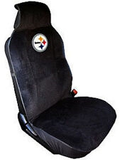 Pittsburgh Steelers Embroidered Seat Cover NEW Car Auto NFL Black Truck SUV CDG