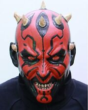 Creepy Evil Scary Darth Maul Devil Halloween Latex Masks Cosplay Party Costumes