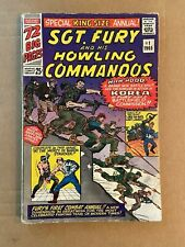 Sgt. Fury and His Howling Commandos Annual #1 Comic Book