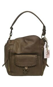 NWT Jessica Simpson Women's Selita Hobo Truffle Handbag MSRP: $98.00