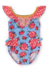 NEW NWT Baby GAP Navy Red White Polka Dot Flower Tankini Swimsuit U Pick Size