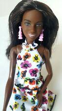 Barbie Fashionistas Doll #106 Original Body Type with Floral Dress NEW