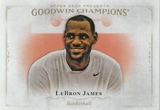 2015-16 Goodwin Champs  LEBRON JAMES  base issue card  Cleveland cavelieers