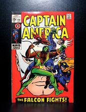 COMICS: Marvel: Captain America #118 (1969), 1st Falcon & Cap team-up - RARE