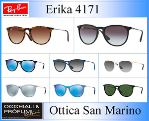 OCCHIALI DA SOLE RAY BAN MODELLO: ERIKA 4171. --COLORI DIVERSI, AGGIORNATO 2021