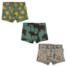 Maxomorra organic boxer shorts | Lion | Rhino | Lizard | 2 3 4 5 6 7 8 9 10