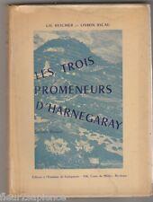Les 3 promeneurs d'Harnegaray : Roman basque Gil Reicher et Osmin Ricau dédicace