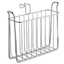 Tank Magazine Storage Rack Holder Bathroom Metal Organizer Stand Book Shelf New