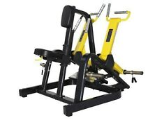 JBF Commercial Grade Seated Row Leverage Black w/ Yellow or Red