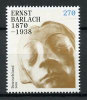 Germany Art Stamps 2019 MNH Ernst Barlach German Sculptor Sculpture 1v Set