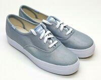 Keds Women's Triple Iridescent Light Blue Denim WF59616 Choose Size