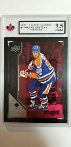 Wayne Gretzky 2011-12 Black Diamond RUBY Hockey Card #50/100 KSA Grade 9.5!!