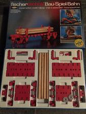 Vintage Fischertechnik Bau Spiel Bahn Wagon 30115 Fischer-Technik NIB Look