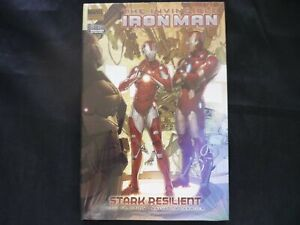 Invincible Iron Man Vol. 6: Stark Resilient vol 2  Hardcover graphic novel (b2)