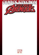 New Avengers #1 Blank Cover Variant NM