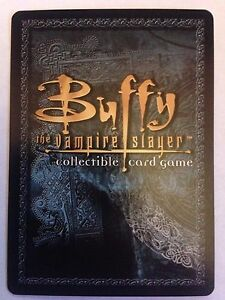 Buffy the Vampire Slayer CCG Class of '99 Preview Card Selection