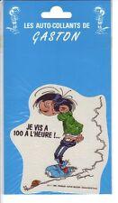 Franquin autocollant Gaston Lagaffe 1990 (7)