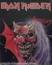 Iron Maiden 21x27 Purgatory Poster 1984