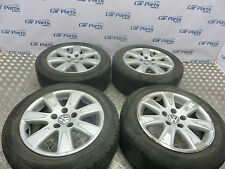 VW PASSAT B6 05-10  16' ALLOY WHEELS SET & TYRES 2055516   5 MONTH WARRANTY