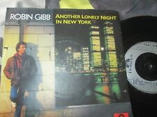 "Robin Gibb Another Lonely Night In New York Polydor POSP 668 UK 7"" Vinyl Single"