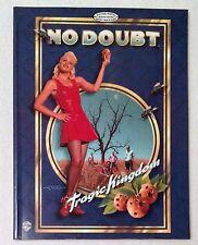 No Doubt Tragic Kingdom Guitar Tab Songbook - 1996 Warner Bros. Publications OOP