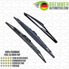 Suzuki Grand Vitara ATV/SUV (2005 to 2015) Wiper Blade Set X3 Front Rear